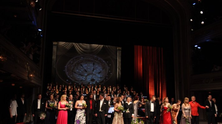 OPERA GALA CONCERT TAKES PLACE ON THE MAIN STAGE ON OCCASION OF CLOSING OF THE 145TH SEASON