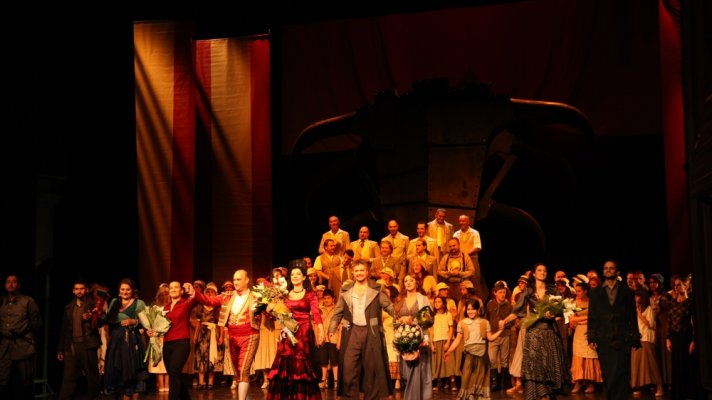 OPERA CARMEN BY GEORGES BIZET OPENED 146TH SEASON IN THE NATIONAL THEATRE IN BELGRADE ON 1ST OCTOBER
