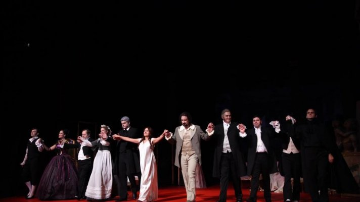 PREMIERE REVIVAL OF VERDI'S OPERA LA TRAVIATA TOOK PLACE ON THE MAIN STAGE, 4 OCTOBER