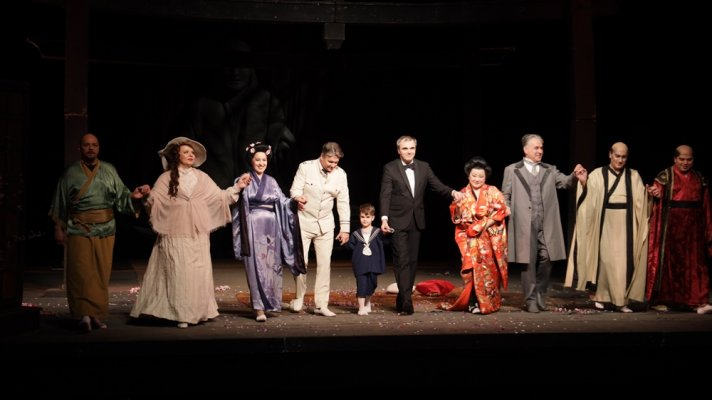 Performance of Puccini's Madam Butterfly for 100th Anniversary of the Opera of the National Theatre in Belgrade