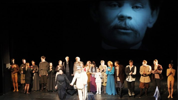 """Vasa Zeleznova and Others"" based on the works of Maxim Gorky and adapted and directed by Zlatko Sviben premiered on the Main Stage"